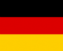 GERMANY - HAND WAVING FLAG (MEDIUM)